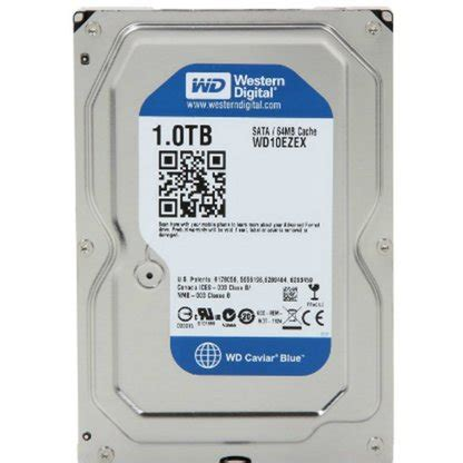Hardisk Wd 1tb wd blue 1tb desktop disk drive 7200 rpm sata 6 gb s 64mb cache 3 5 inch computer