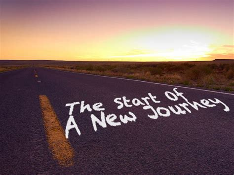 Start Of A Journey by A New Start Dignaj