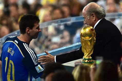 2014 world cup golden ball winner did lionel messi no one can believe lionel messi won the world cup golden