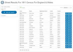 1911 Census Address Search 1911 Census Address Search Reintroduced To Findmypast Findmypast Genealogy