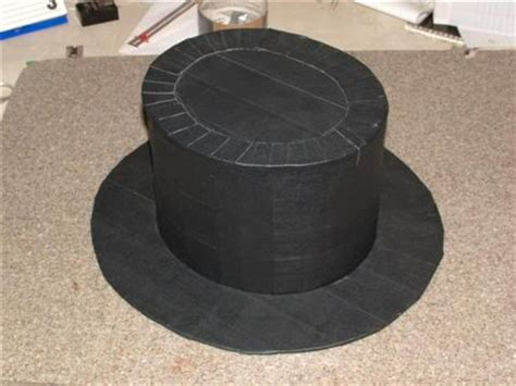 How To Make A Top Hat Out Of Paper - mathew s duct mdt
