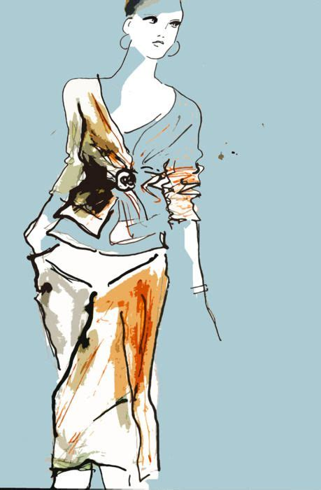 fashion illustration using ink pen and ink fashion illustration fashion illustration