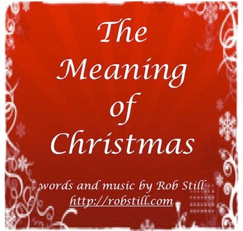 meaning of christmas cvr robstill com