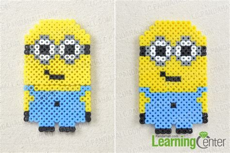 perler bead patterns minion character designs on how to make a minion out