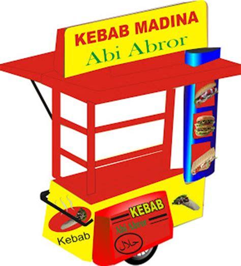 Sticker Kompor 5 design outlet kebab madina