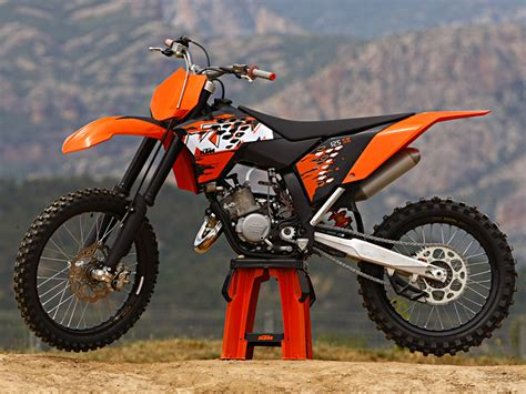 2007 Ktm 125 Sx Specs 2005 Ktm 125 Sx Pics Specs And Information