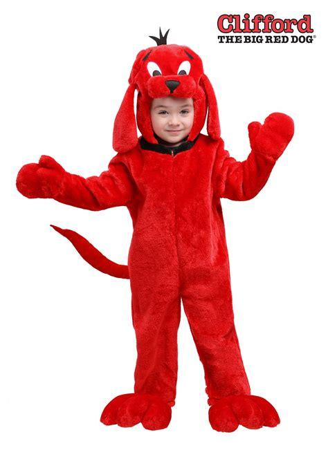 clifford the clifford the big costume for toddlers