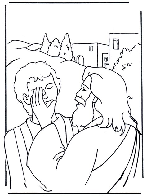 Efata Jesus Heilt Malvorlagen Neues Testament Free Coloring Pictures Of Jesus And The At The Well
