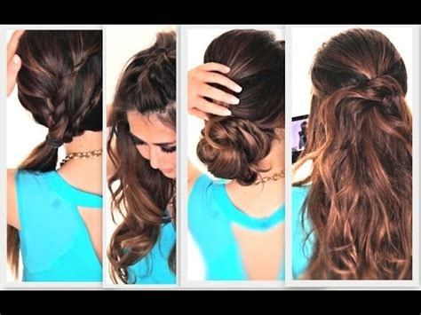 How To 6 Easy Lazy Summer Hairstyles Hair Tutorial Word W | 0 jpg