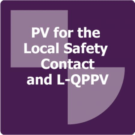Lu Emergency L pv for the local safety contact and l qppv