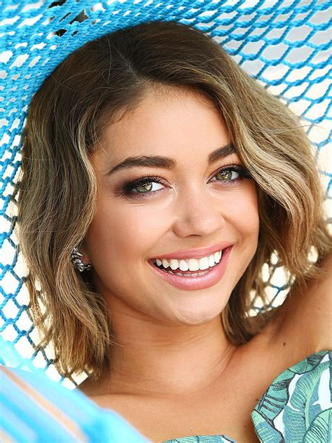 Sarah Hyland Summer Beauty Tips, Hawaiian Tropic Partnership