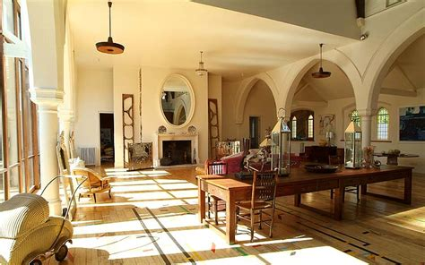 Fabulous Living Room In This Church Conversion Benefits | 13 church conversion projects worth praising