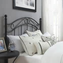 Black Metal Headboard Mainstays Metal Headboard Colors