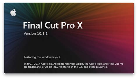 final cut pro change resolution final cut pro x may stop responding at quot restoring the