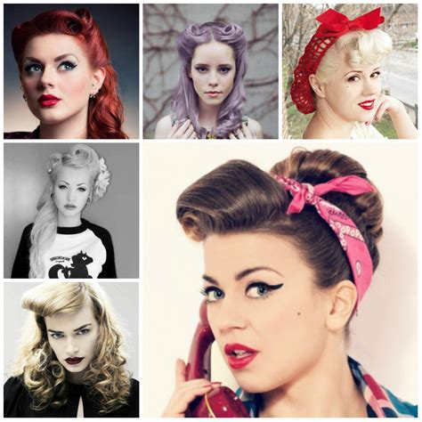 Rockabilly Pin Up Hairstyles by Pin Up Hairstyles Hairstyle For