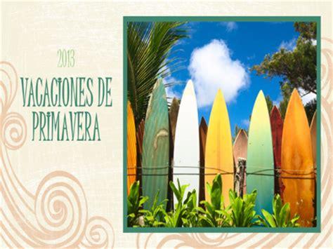 imagenes vacaciones de primavera 193 lbum de fotos de vacaciones en primavera dise 241 o de playa