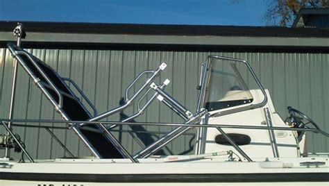 fold down t tops for boats fold down t top for center console boat 2 16 fos 600