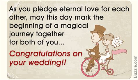 Wedding Congratulation Words by Congratulations On Your Wedding Wishes