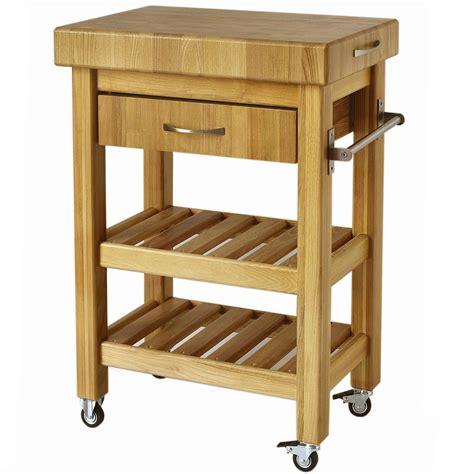 carrelli cucina in legno carrello da cucina in legno massello con cassetto