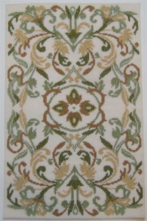 embroidered rugs vienna gold green machine embroidered rug