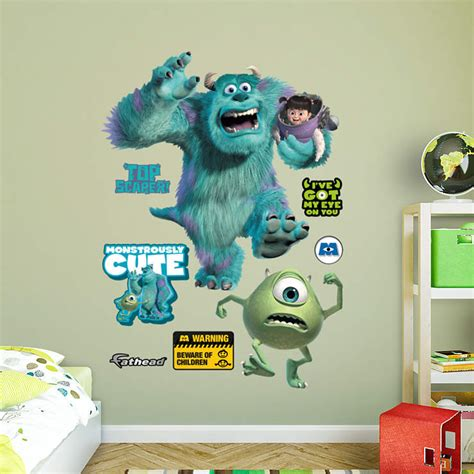 monsters inc bedroom accessories monsters inc