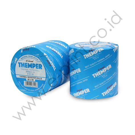 Thermal Paper Roll 80 X 80 E Print Kertas Struk themper 80 215 80 e print