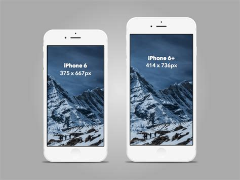 iphone ui kit iphone 6 gui 6 plus mockup templates free