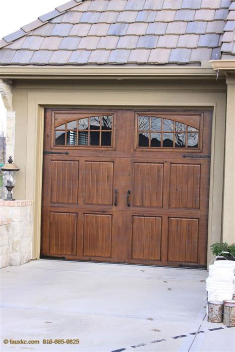 Overhead Door Overland Park Ks Painting Aluminum Garage Doors To Look Like Wood Home Desain 2018