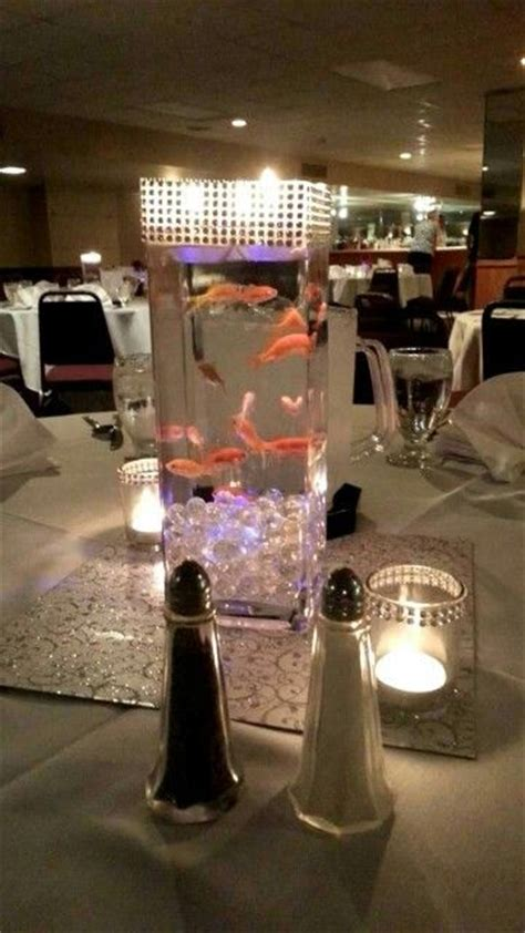 live centerpieces 25 best ideas about fish centerpiece on fish