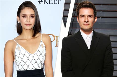 orlando bloom current wife nina dobrev and orlando bloom are dating source
