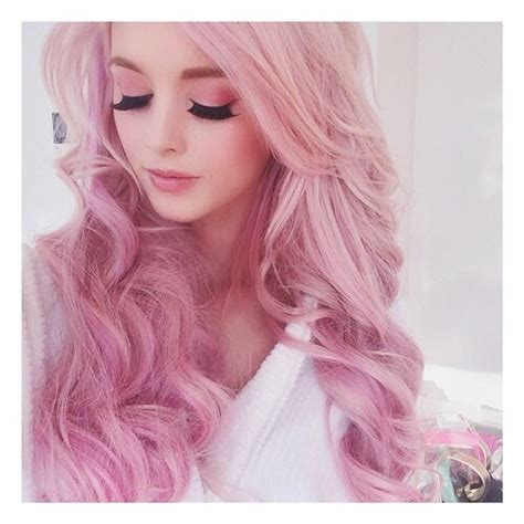 hair pink pink hair on