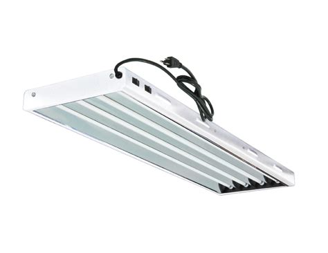 T 5 Fluorescent Light Fixtures Hydroponic T5 Fluorescent Bulbs Included For Indoor Horticulture Gardening Ebay