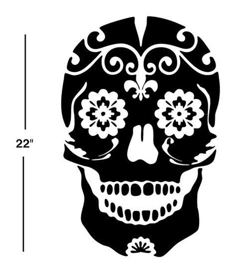 day of the dead bedroom ideas sugar skull decal sticker wall art day of the dead dia de los muertos