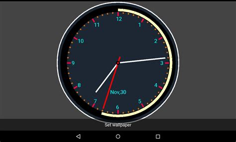 clock app android free live clock wallpaper android apps on play