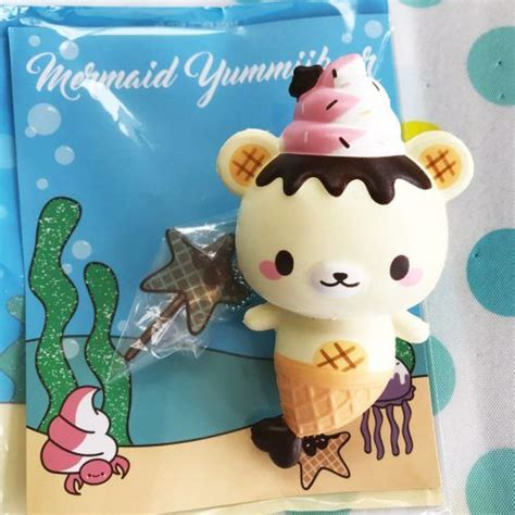 Yummiibear Panda Mermaid squishy mermaid yummiibear the mermaid icecream