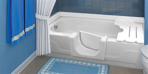 Soaking Tub Insert Safetybath Insert Kit Home2stay Home2stay