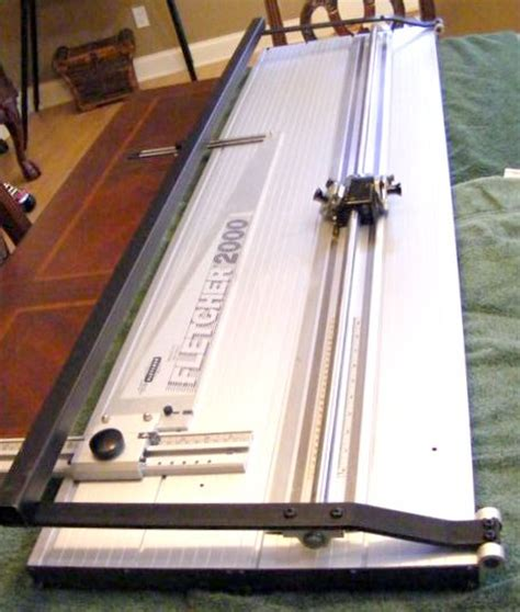 Mat Board Cutter by Fletcher 2000 Mat Cutter 60 Inch Used Picture Framing