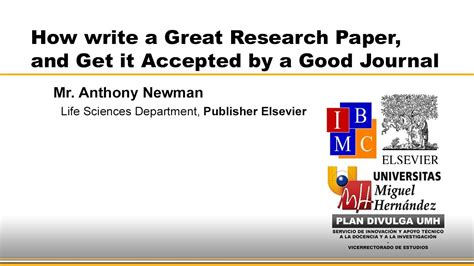 how to write a great research paper how to write a great research paper and get it accepted