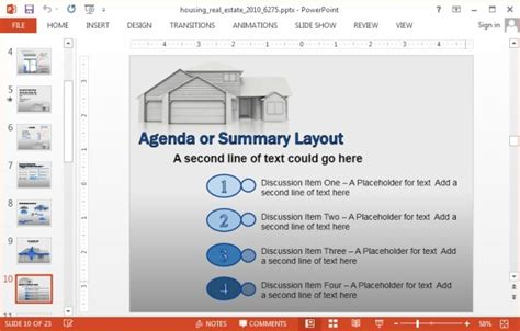 animated real estate powerpoint templates animated house powerpoint templates
