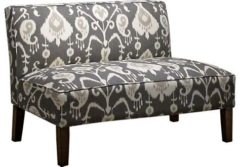 rooms to go chaise shop for a barrington row pewter armless chaise at rooms to go find chaises that will look
