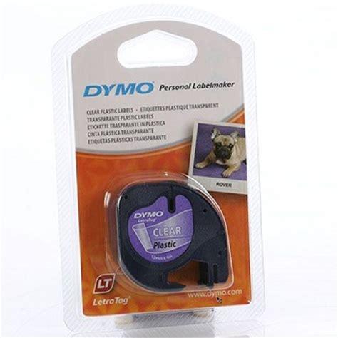 Label Letratag Dymo Plastic Clear Dymo Letratag dymo letratag