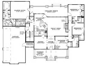 Ranch Floor Plans With Bonus Room 4 bedroom ranch house plans with bonus room so replica