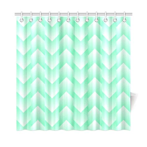 mint shower curtain mint green and white pattern shower curtain 72 quot x72 quot id