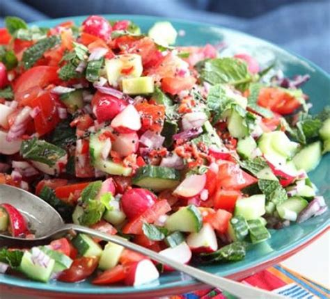 radish salad recipe crunchy radish tomato salad recipe bbc good food