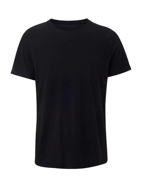 Tshirt Black black crew neck t shirt shop occasions burton menswear