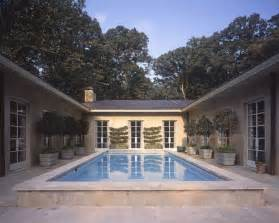 u shaped house plans with pool u shaped house pool design ideas remodels photos