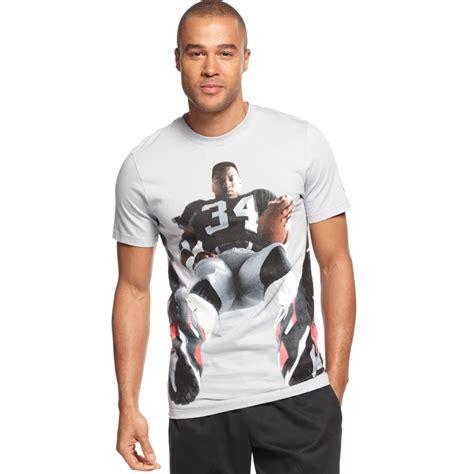 Tshirt Woles Grey nike bo jackson graphic tshirt in gray for wolf grey