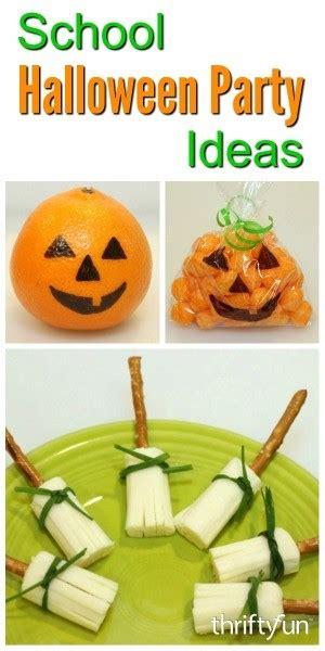 school halloween party ideas thriftyfun