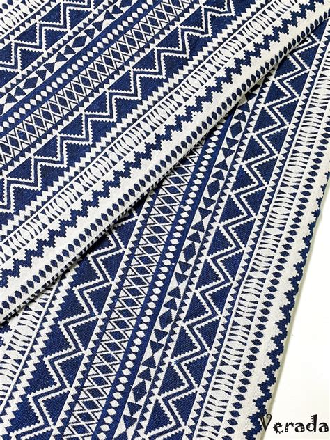 ethnic pattern fabric thai woven fabric tribal fabric native fabric by the yard