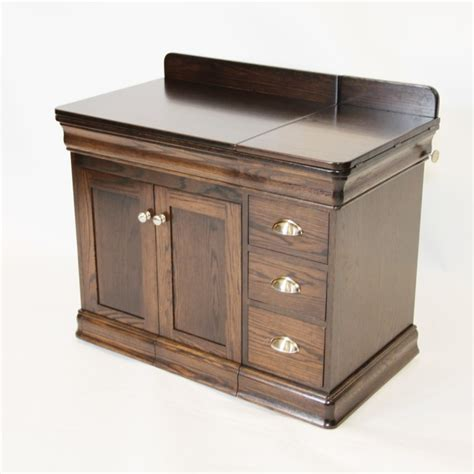 Amish Kitchen Furniture single pedestal sewing cabinets at country lane furniture